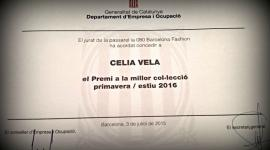 National Award for the best collection for Celia Vela
